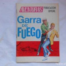 Tebeos: AVENTURAS Nº 21 - GARRAS DE FUEGO - TORAY - AÑOS 60. Lote 207164628
