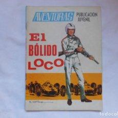 Tebeos: AVENTURAS Nº 10 - EL BOLIDO LOCO - TORAY - AÑOS 60. Lote 207165152