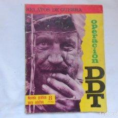 Tebeos: RELATOS DE GUERRA - OPERACION DDT - Nº 95 - NOVELA GRAFICA - TORAY - AÑOS 60. Lote 207166771
