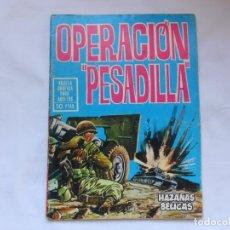 Tebeos: HAZAÑAS BELICAS Nº 135 - OPERACION PESADILLA - NOVELA GRAFICA - TORAY - AÑOS 60. Lote 207167040