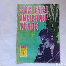 Tebeos: ESPIONAJE - Nº 35 - SOS EN EL INFIERNO VERDE - EDICIONES TORAY - NOVELA GRAFICA. Lote 207168965