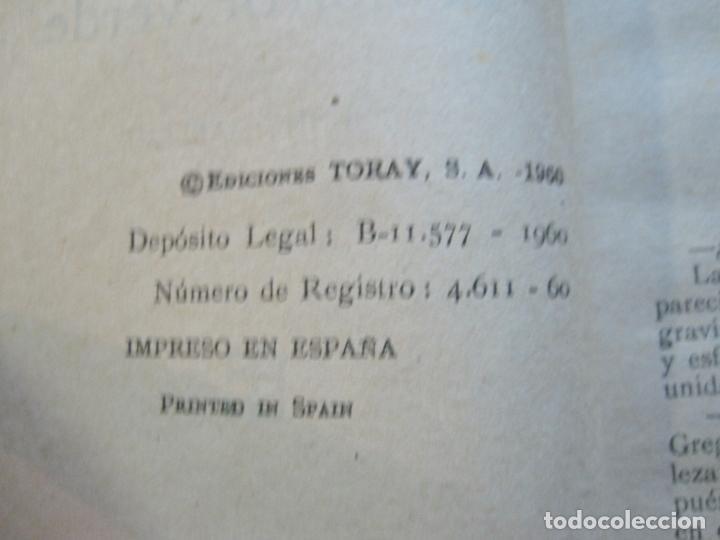 Tebeos: S.I.P-SPACIAL INTERNATIONAL POLICE-EL HORROR VERDE-EDICIONES TORAY-AÑO 1960-VER FOTOS-(V-20.409) - Foto 8 - 207655107
