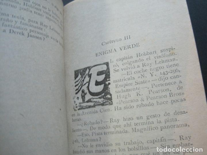 Tebeos: S.I.P-SPACIAL INTERNATIONAL POLICE-EL HORROR VERDE-EDICIONES TORAY-AÑO 1960-VER FOTOS-(V-20.409) - Foto 9 - 207655107