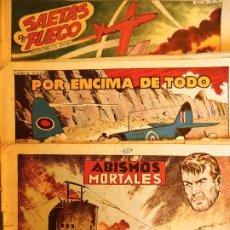 Tebeos: COM-242. HAZAÑAS BÉLICAS (SEGUNDA SERIE). 3 CUADERNOS ORIGINALES (VER TÍTULOS). EDS. TORAY. BOIXCAR.. Lote 207795980