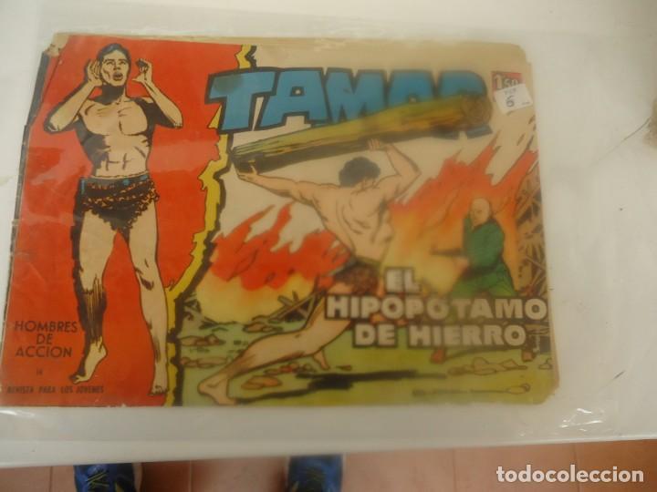 TAMAR, EL HIPOPOTAMO DE HIERRO (Tebeos y Comics - Toray - Tamar)