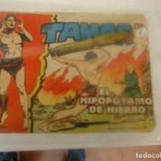 Tebeos: TAMAR, EL HIPOPOTAMO DE HIERRO. Lote 207965352