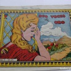 Tebeos: REVISTA JUVENIL AZUCENA NÚM. 474 - DOS VOCES DE ORO. Lote 208010091