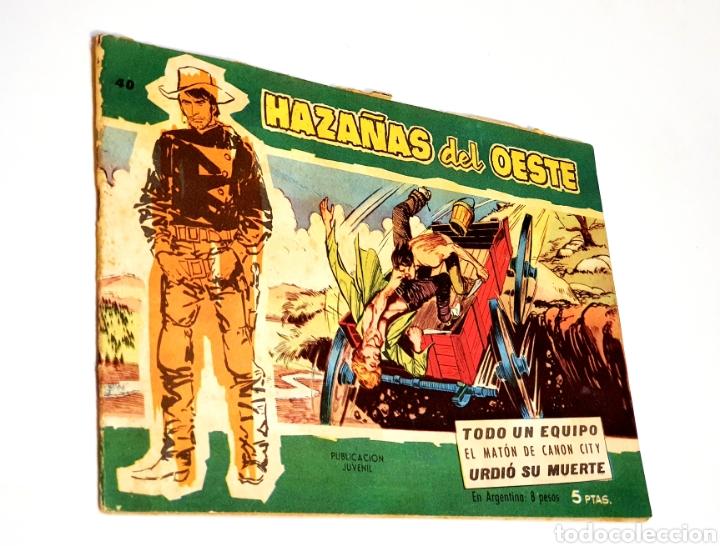 HAZAÑAS DEL OESTE NÚMERO 40 (Tebeos y Comics - Toray - Hazañas del Oeste)