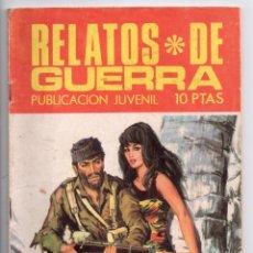 Tebeos: Nº 181 RELATOS DE GUERRA . EDICIONES TORAY S.A. 1966. Lote 208173671
