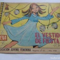 Tebeos: REVISTA JUVENIL AZUCENA NÚM. 1047 - EL VESTIDO DE FIESTA. Lote 208200352