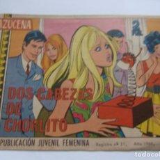 Tebeos: REVISTA JUVENIL AZUCENA NÚM. 1055 - DOS CABEZAS DE CHORLITO. Lote 208200532