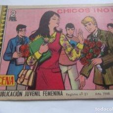 Tebeos: REVISTA JUVENIL AZUCENA NÚM. 1064 -CHICOS ¡ NO !. Lote 208317425