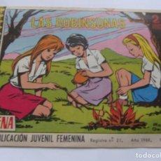 Tebeos: REVISTA JUVENIL AZUCENA NÚM. 1071 - LAS ROBINSONAS. Lote 208318321