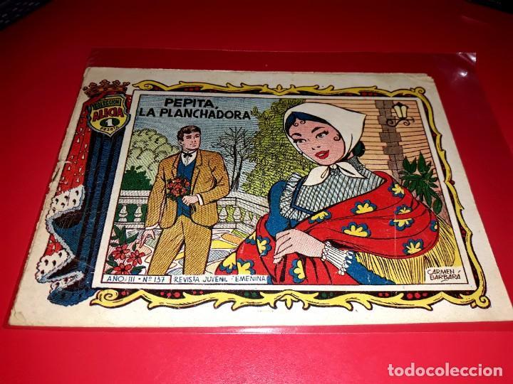 ALICIA COLECCIÓN Nº 137 1955 TORAY (Tebeos y Comics - Toray - Alicia)