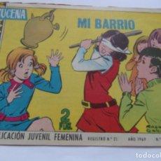 Tebeos: REVISTA JUVENIL AZUCENA NÚM. 1098 -MI BARRIO. Lote 208430751