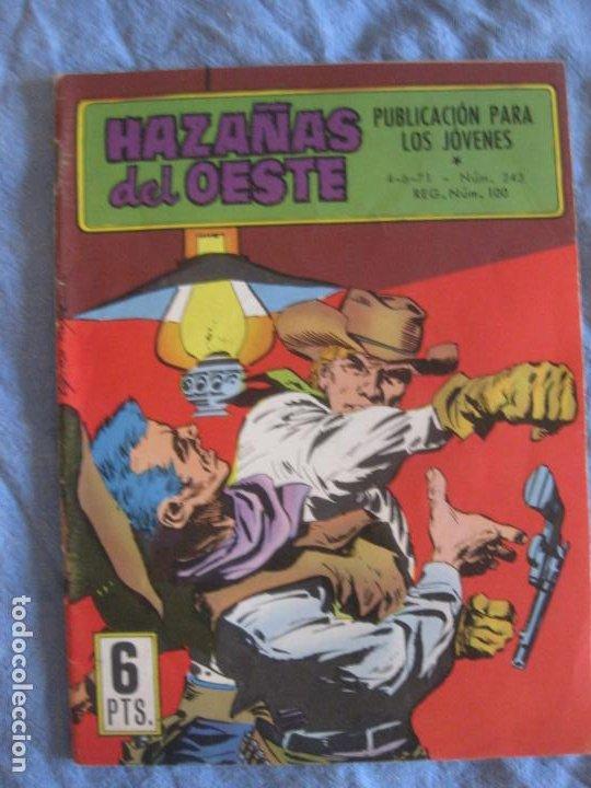 HAZAÑAS DEL OESTE Nº 243. TORAY. (Tebeos y Comics - Toray - Hazañas del Oeste)