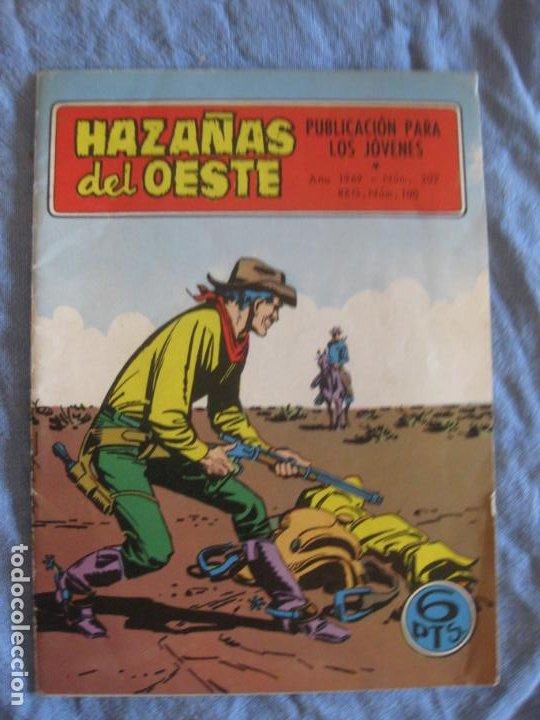 HAZAÑAS DEL OESTE Nº 202. TORAY. (Tebeos y Comics - Toray - Hazañas del Oeste)