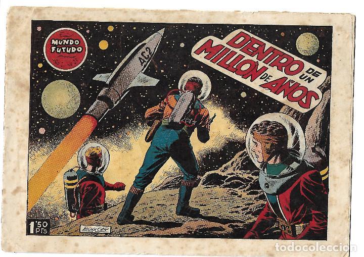 EL MUNDO FUTURO NUM 27 - ORIGINAL (Tebeos y Comics - Toray - Mundo Futuro)