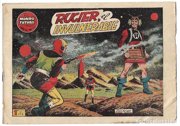 EL MUNDO FUTURO NUM 50 - ORIGINAL (Tebeos y Comics - Toray - Mundo Futuro)