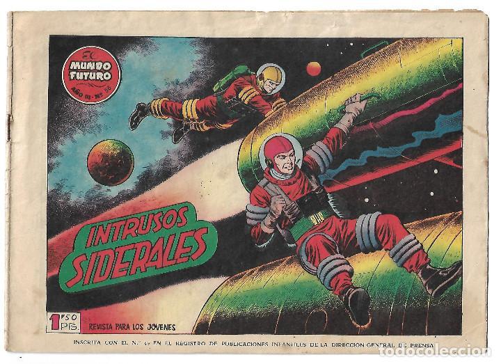 EL MUNDO FUTURO NUM 56 - ORIGINAL (Tebeos y Comics - Toray - Mundo Futuro)