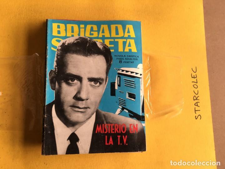 Tebeos: BRIGADA SECRETA. LOTE DE 9 NUMEROS (VER DESCRIPCION) EDITORIAL TORAY AÑO 1962 - Foto 3 - 209388946