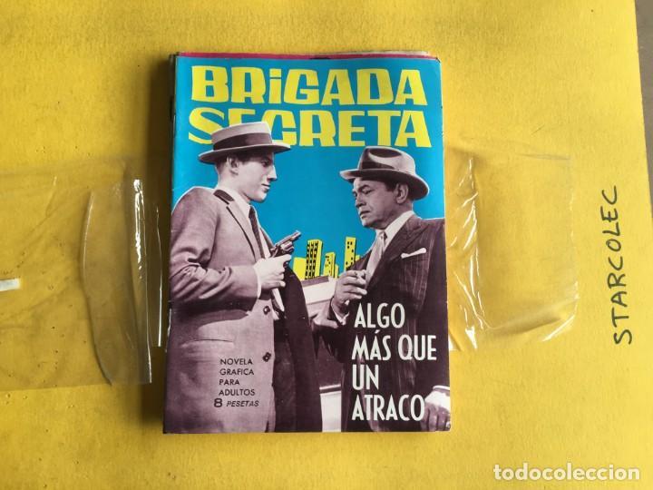 Tebeos: BRIGADA SECRETA. LOTE DE 9 NUMEROS (VER DESCRIPCION) EDITORIAL TORAY AÑO 1962 - Foto 8 - 209388946