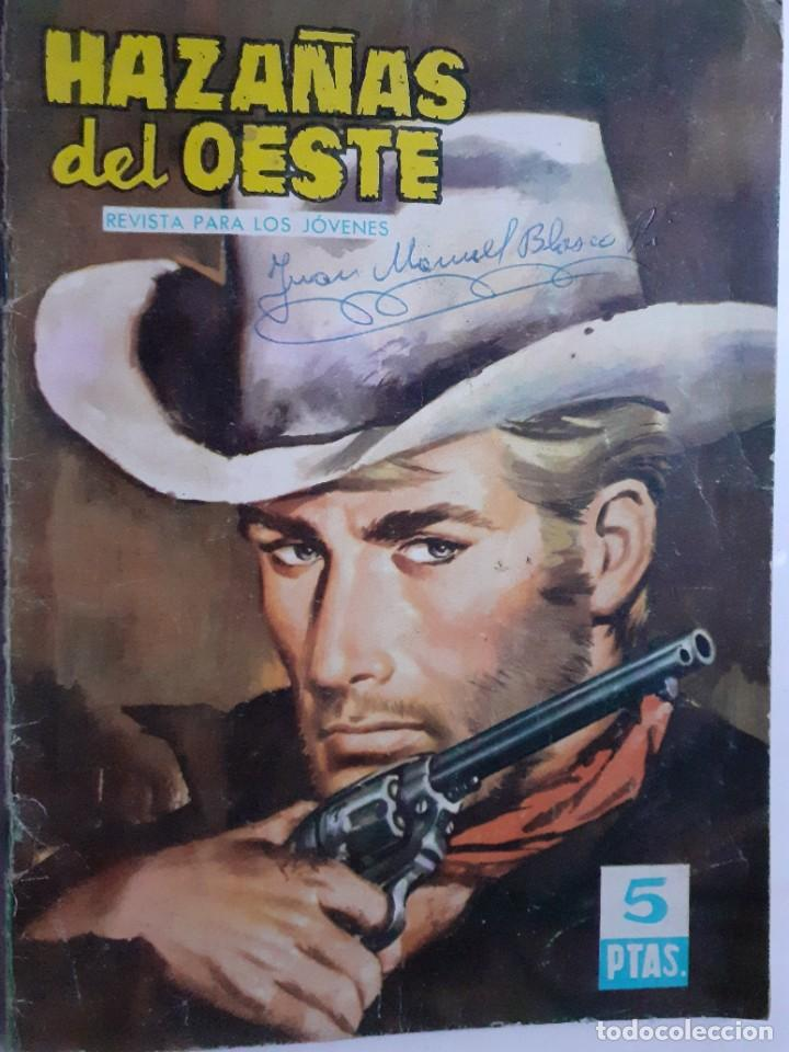 HAZAÑAS DEL OESTE-NOVELA GRÁFICA- Nº 45 -JOSÉ DUARTE-FRANCISCO CUETO-1963-BUENO-DIFÍCIL-LEA-3723 (Tebeos y Comics - Toray - Hazañas del Oeste)