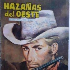 Tebeos: HAZAÑAS DEL OESTE-NOVELA GRÁFICA- Nº 45 -JOSÉ DUARTE-FRANCISCO CUETO-1963-BUENO-DIFÍCIL-LEA-3723. Lote 209795836