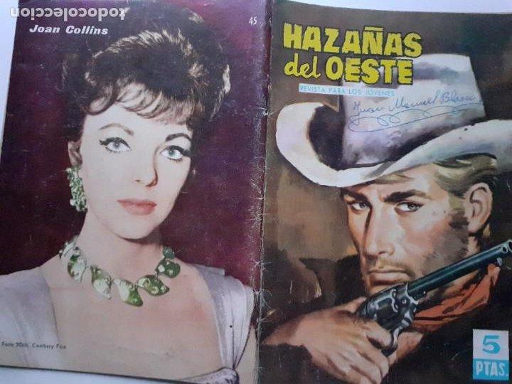 Tebeos: HAZAÑAS DEL OESTE-NOVELA GRÁFICA- Nº 45 -JOSÉ DUARTE-FRANCISCO CUETO-1963-BUENO-DIFÍCIL-LEA-3723 - Foto 2 - 209795836