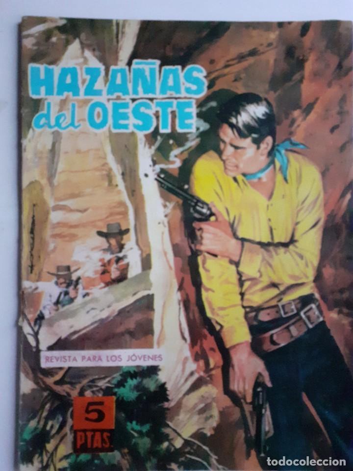 HAZAÑAS DEL OESTE-NOVELA GRÁFICA- Nº 56 -JAVIER MUSQUERA-FRANCISCO CUETO-1964-BUENO-DIFÍCIL-LEA-3724 (Tebeos y Comics - Toray - Hazañas del Oeste)