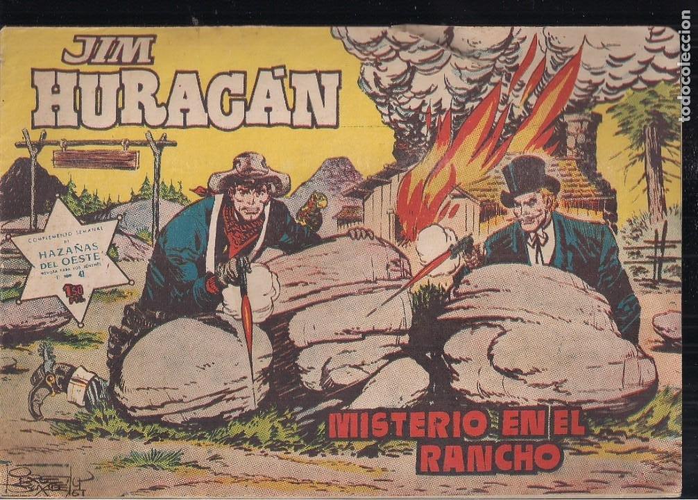 JIM HURACAN Nº 41: MISTERIO EN EL RANCHO (Tebeos y Comics - Toray - Hazañas del Oeste)