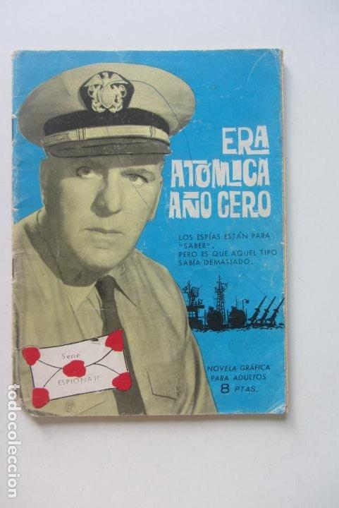 ESPIONAJE - Nº 3 -ERA ATÓMICA AÑO CERO- GRAN JOSEP GUAL-1965 TORAY CX60 (Tebeos y Comics - Toray - Espionaje)