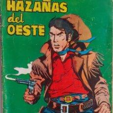 Tebeos: HAZAÑAS DEL OESTE-NOVELA GRÁFICA- Nº 113 -LUIS CASTELLÓ-FERRÁN DELMÁS-1966-BUENO-DIFÍCIL-LEA-3726. Lote 209865008