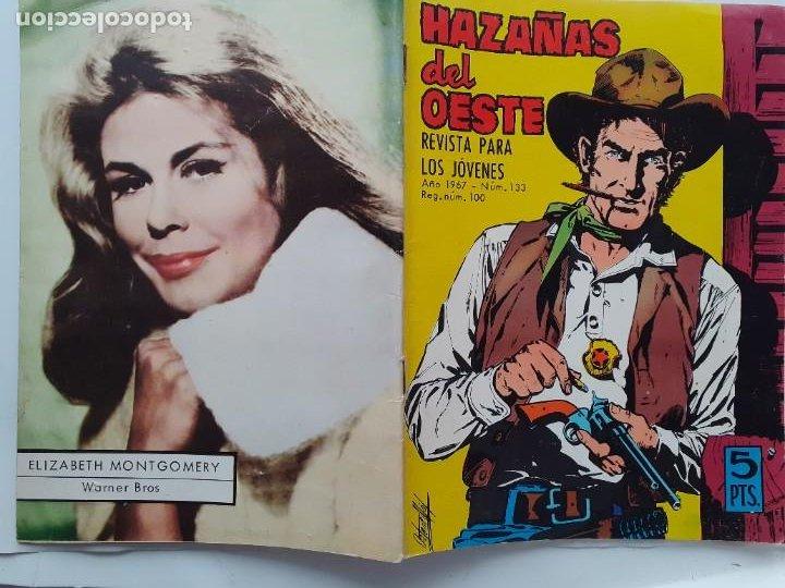 Tebeos: HAZAÑAS DEL OESTE-NOVELA GRÁFICA- Nº 133 -JORGE BUXADÉ-A. PÉREZ-1967-BUENO-DIFÍCIL-LEA-3727 - Foto 3 - 209866181