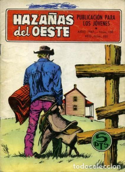 HAZAÑAS DEL OESTE-NOVELA GRÁFICA- Nº 150 -ANTONIO MÁS-JAIME BROCAL-1967-BUENO-DIFÍCIL-LEAN-3728 (Tebeos y Comics - Toray - Hazañas del Oeste)