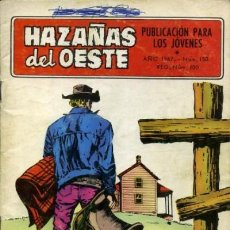 Tebeos: HAZAÑAS DEL OESTE-NOVELA GRÁFICA- Nº 150 -ANTONIO MÁS-JAIME BROCAL-1967-BUENO-DIFÍCIL-LEAN-3728. Lote 209867102