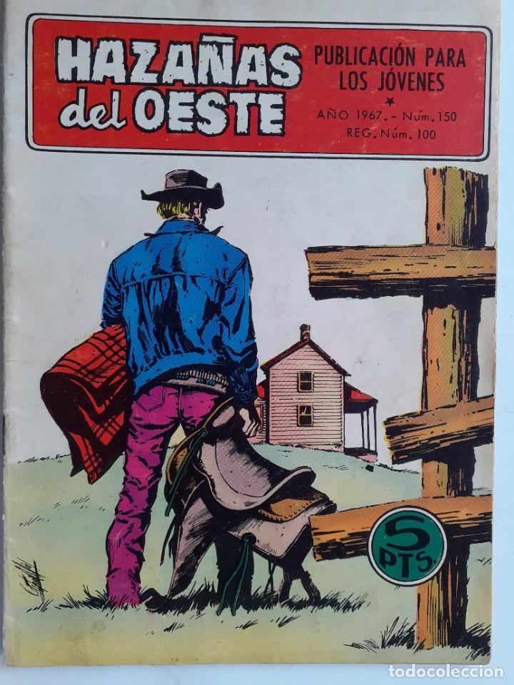 Tebeos: HAZAÑAS DEL OESTE-NOVELA GRÁFICA- Nº 150 -ANTONIO MÁS-JAIME BROCAL-1967-BUENO-DIFÍCIL-LEAN-3728 - Foto 2 - 209867102