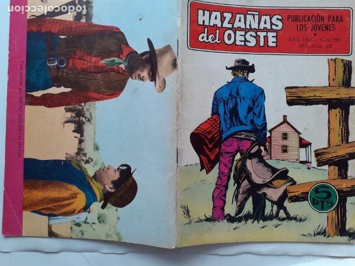 Tebeos: HAZAÑAS DEL OESTE-NOVELA GRÁFICA- Nº 150 -ANTONIO MÁS-JAIME BROCAL-1967-BUENO-DIFÍCIL-LEAN-3728 - Foto 3 - 209867102