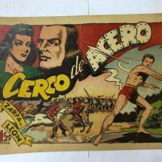 BDs: ZARPA DE LEON , CERCO DE ACERO, Nº 43 , ANTIGUO , ORIGINAL, 1,25PTAS. Lote 209906236