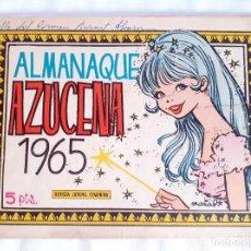 Livros de Banda Desenhada: ALMANAQUE AZUCENA 1965 REVISTA JUVENIL FEMENINA 5 PTS. Lote 209908373