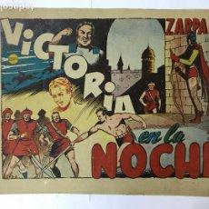 BDs: ZARPA DE LEON , VICTORIA EN LA NOCHE, Nº 8-Z , ANTIGUO , ORIGINAL, 1,25PTAS. Lote 209914157