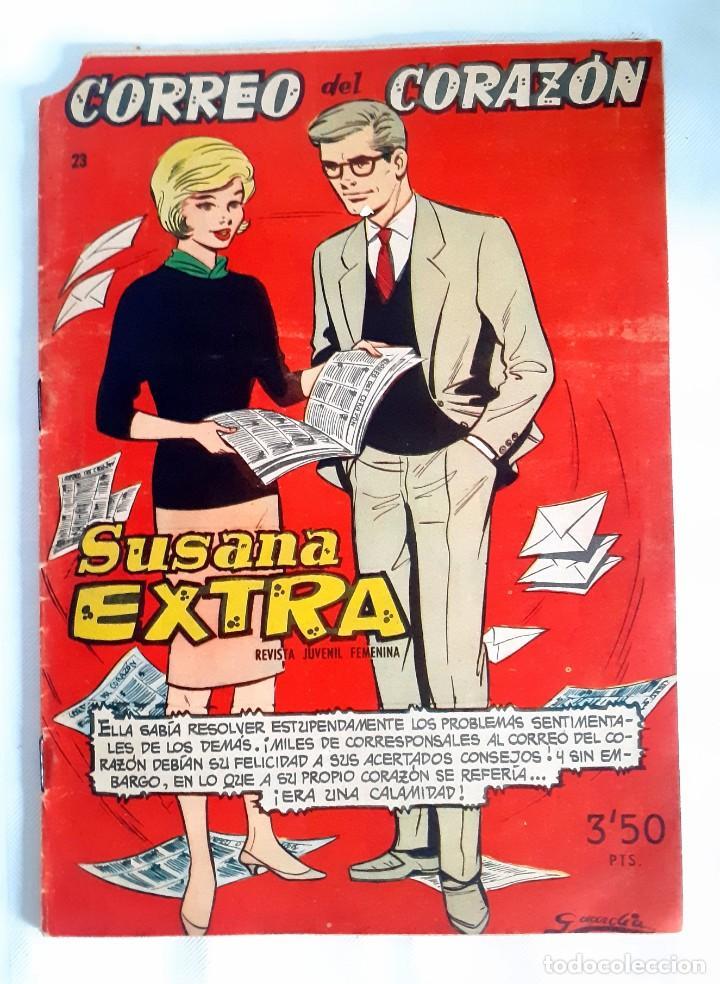 SUSANA EXTRA. Nº 23 CORREO DEL CORAZÓN (Tebeos y Comics - Toray - Susana)
