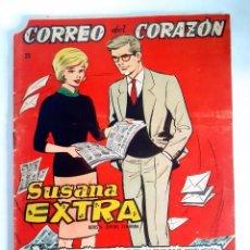 Tebeos: SUSANA EXTRA. Nº 23 CORREO DEL CORAZÓN. Lote 209914707