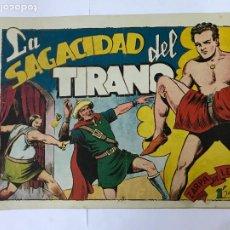 BDs: ZARPA DE LEON , LA SAGACIDAD DEL TIRANO, Nº 53 , ANTIGUO , ORIGINAL, 1,25PTAS. Lote 209914866