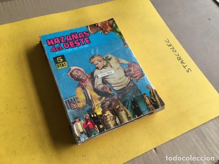 HAZAÑAS DEL OESTE. LOTE DE 10 NUMEROS (VER DESCRIPCION) EDITORIAL TORAY AÑO 1959 (Tebeos y Comics - Toray - Hazañas del Oeste)