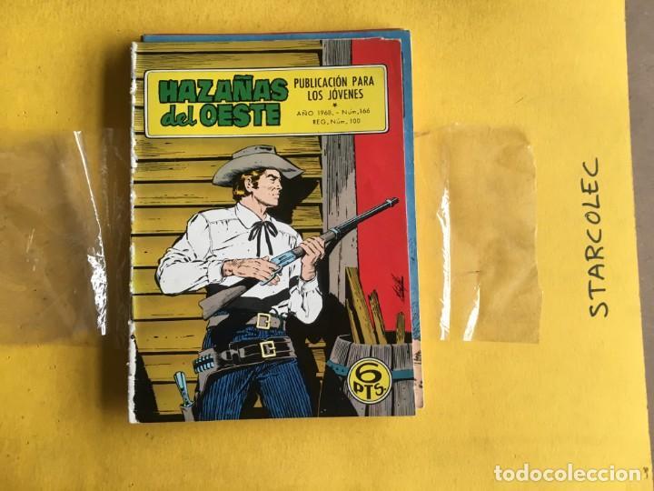 Tebeos: HAZAÑAS DEL OESTE. LOTE DE 10 NUMEROS (VER DESCRIPCION) EDITORIAL TORAY AÑO 1959 - Foto 6 - 209995167