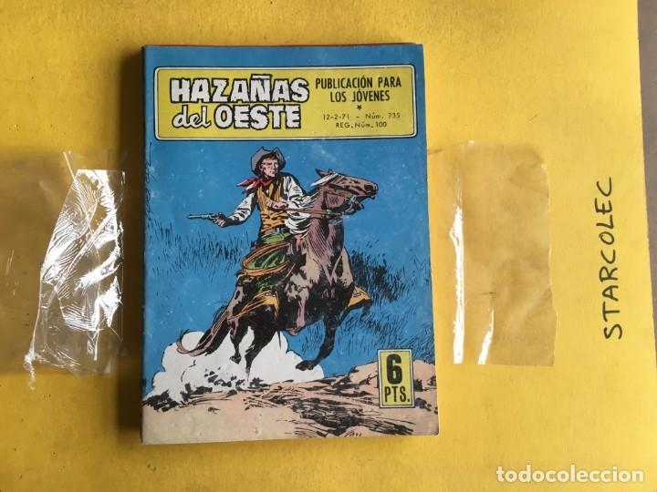 Tebeos: HAZAÑAS DEL OESTE. LOTE DE 10 NUMEROS (VER DESCRIPCION) EDITORIAL TORAY AÑO 1959 - Foto 7 - 209995167