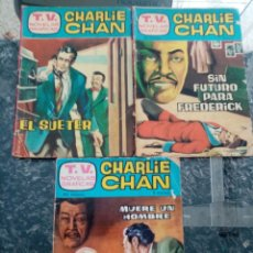Giornalini: CHARLIE CHAN,, TRES, TV NOVELAS GRÁFICAS. Lote 210228090