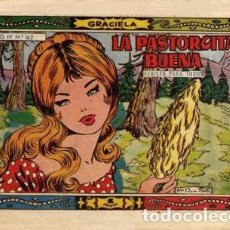 Tebeos: GRACIELA-REVISTA PARA TODOS- Nº 162 -LA PASTORCITA BUENA-1959-GRAN Mª.ROSA-ESCASO-BUENO-3776. Lote 210337387