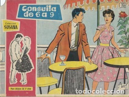SUSANA-PARA JÓVENES DE 17 AÑOS- Nº 29 -CONSULTA DE 6 A 9-1960-EUGENIO SOTILLOS-CORRECTO-DIFÍCIL-3781 (Tebeos y Comics - Toray - Susana)